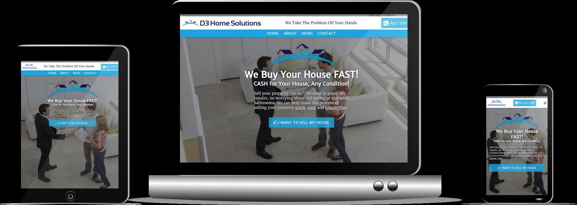 Davidson Paulo responsive set D3 Home Solutions