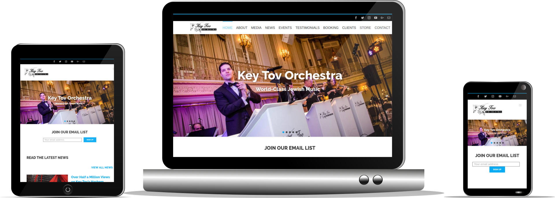Davidson Paulo responsive set Key Tov Orchestra